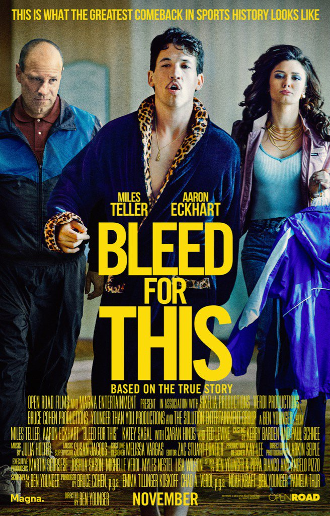 Bleed for this à louer en dvd