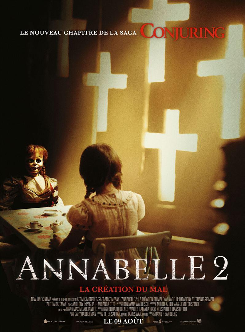 Annabelle 2 : la Création du Mal en location dvd chez atlantistech