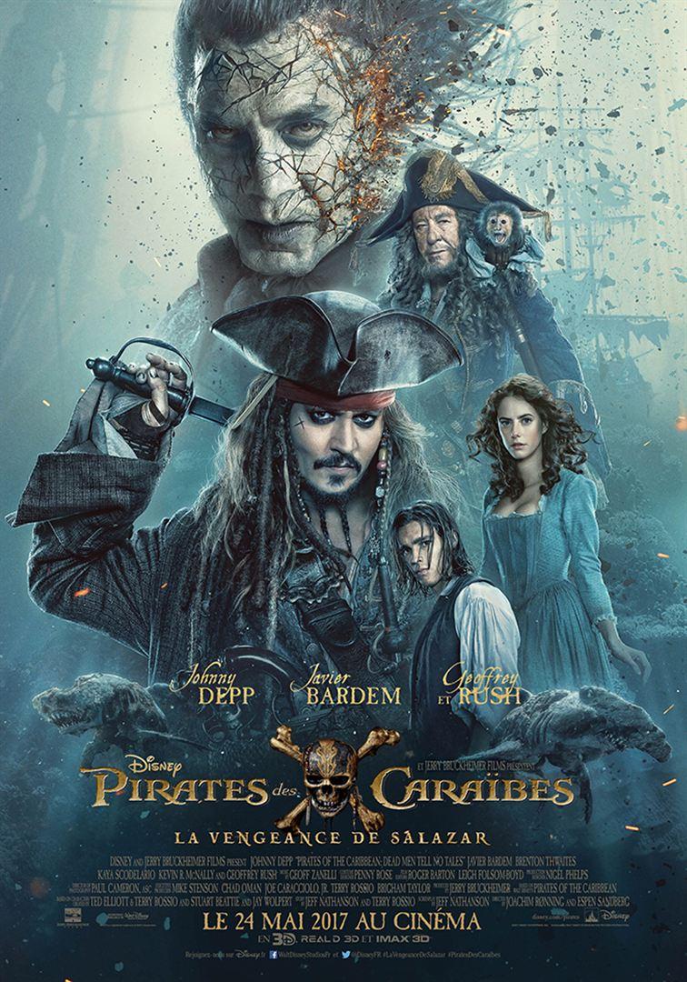 Pirates des caraibes la vengeance de salazar à louer en DVD et BLURAY