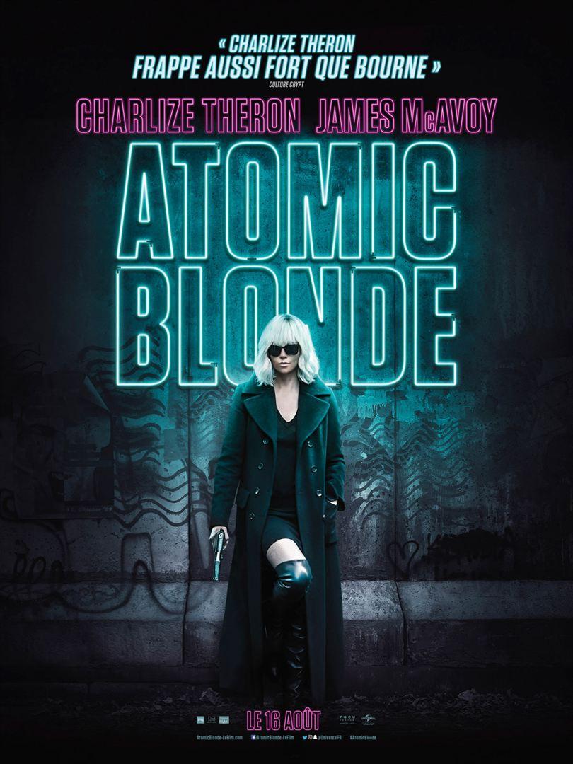 Atomic Blonde en location dvd chez atlantistech à la rochelle