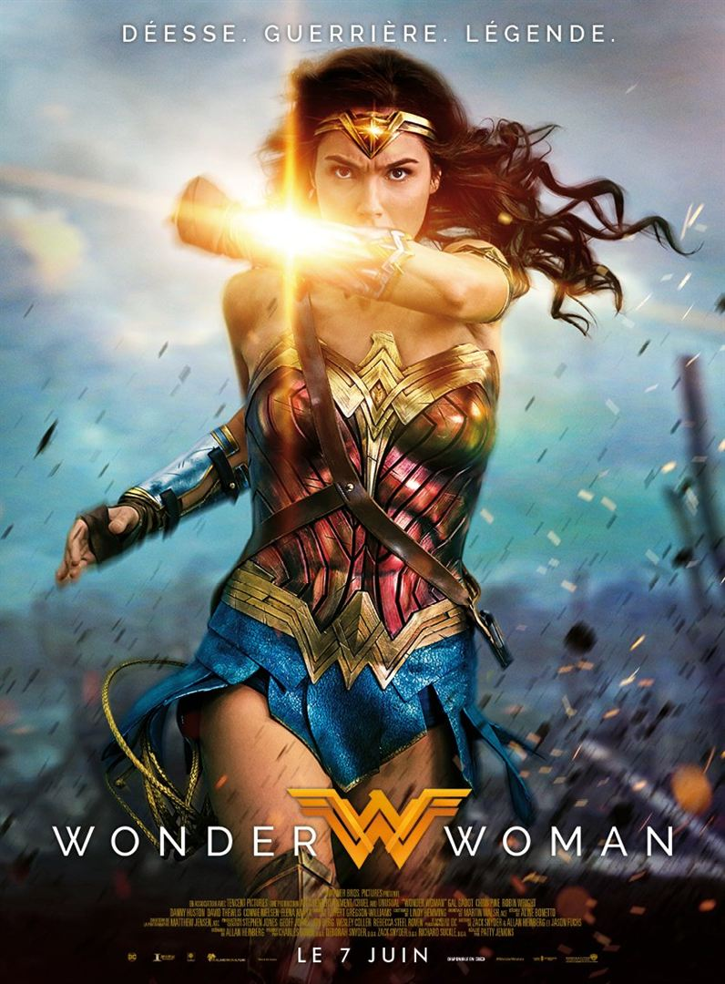 Wonder Woman à louer en DVD