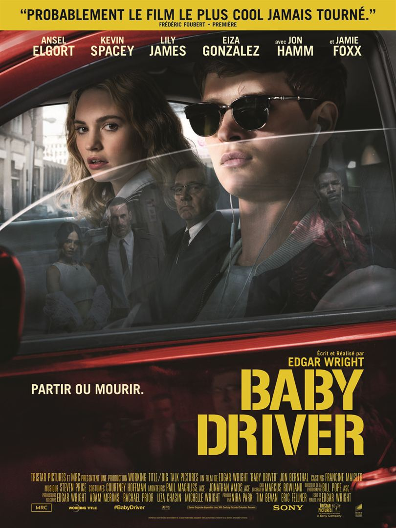 baby driver à la location en dvd