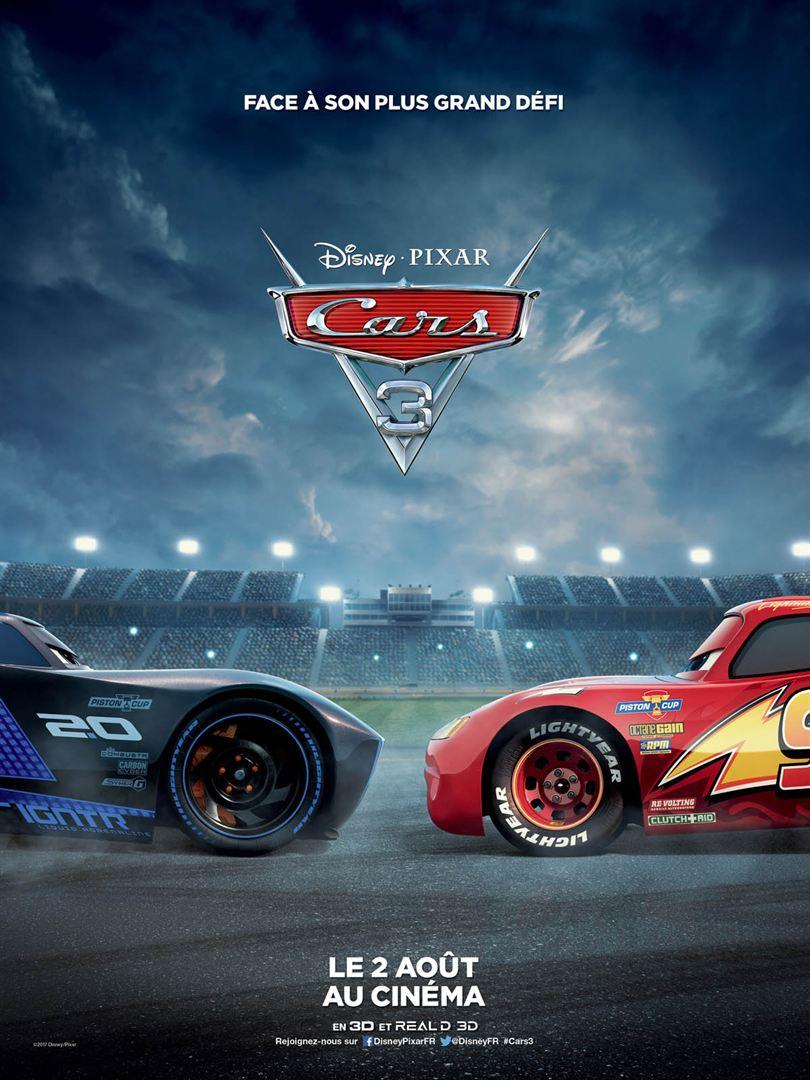 Cars 3 à la location en dvd