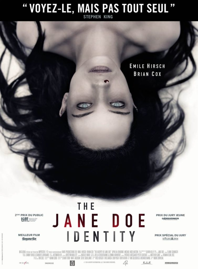 The jane doe identity à louer en DVD