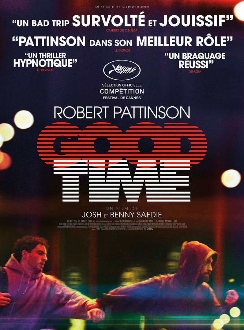 Good Time à la location en dvd