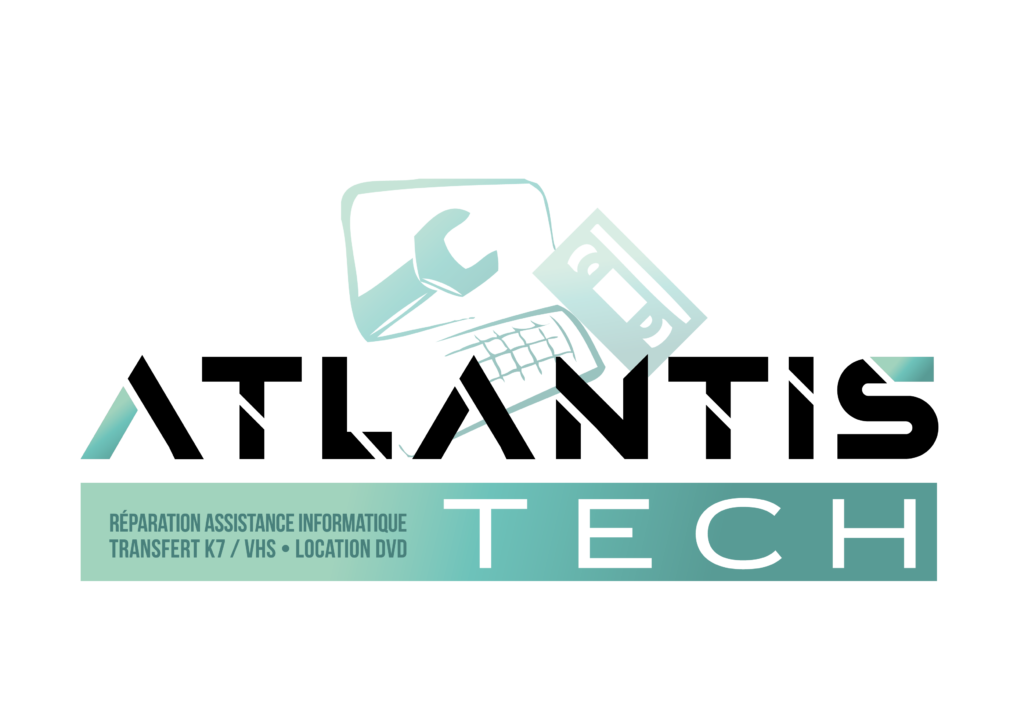 atlantis tech logo réparation assistance informatique