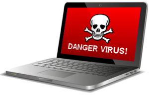 Infection Virus, Malwares, spywares. desinfection