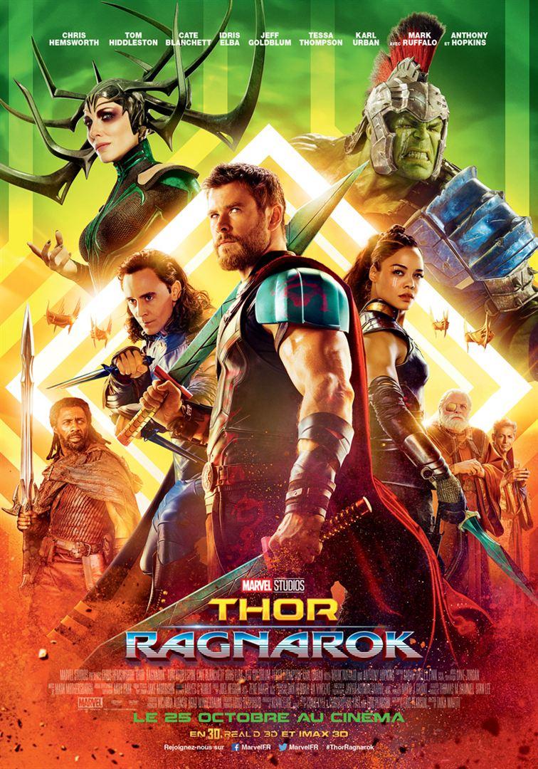 Thor Ragnarok en location dvd