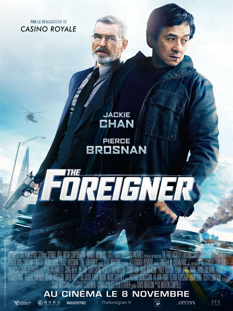 The foreigner en location en dvd