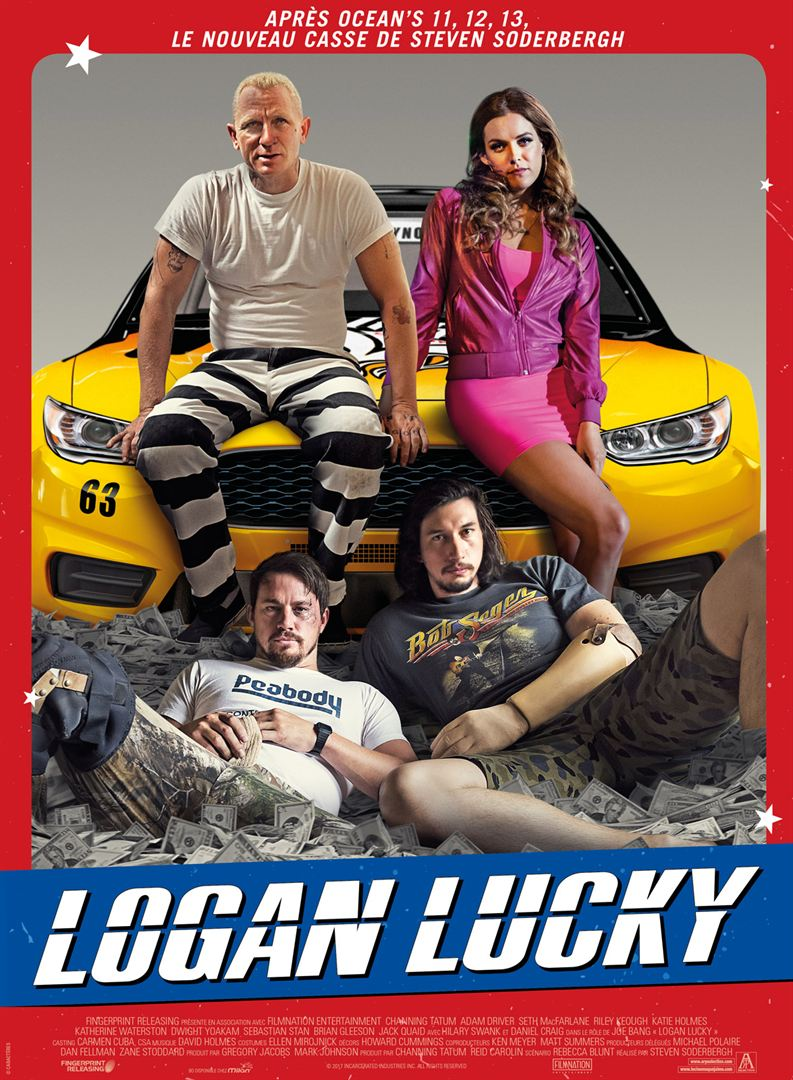 Logan Lucky à la location en dvd