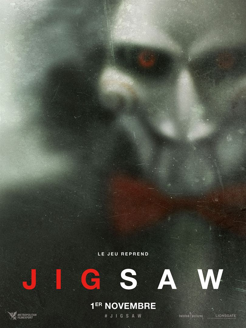 Jigsaw en location dvd