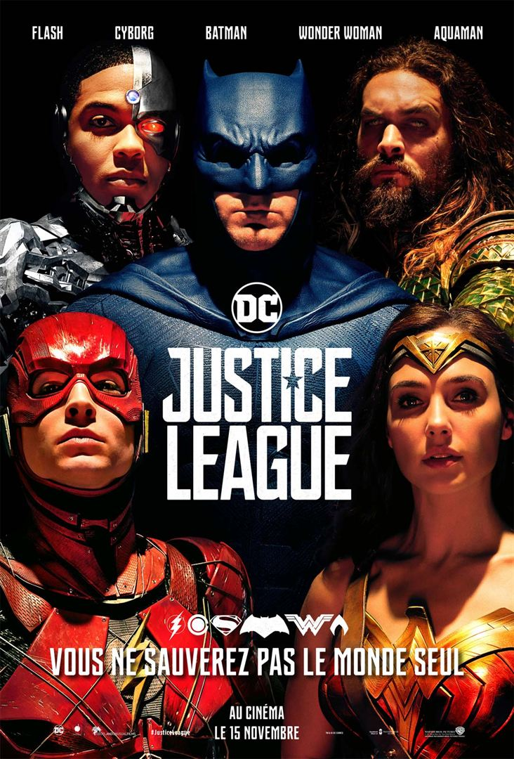 Justice league en location dvd et blu ray