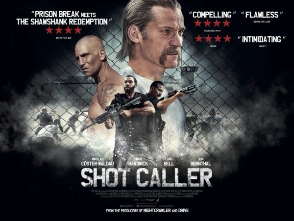 shot caller à la location en dvd