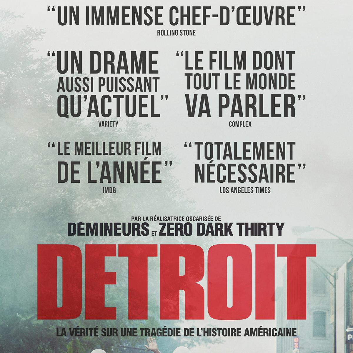 Detroit à la location en dvd