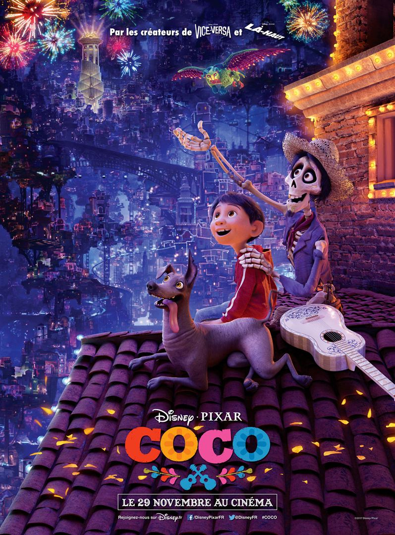 Coco à la location en dvd