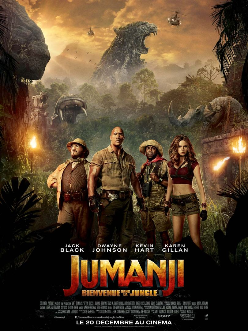 Jumanji à la location en dvd