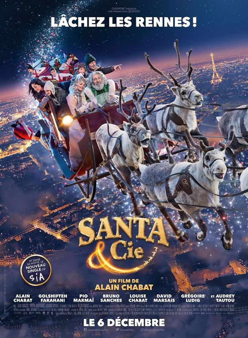 Santa & Cie à la Location en dvd
