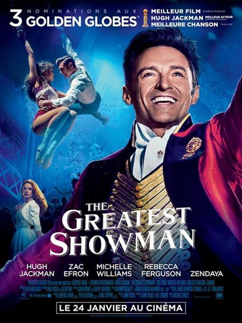 The greatest showman à la location