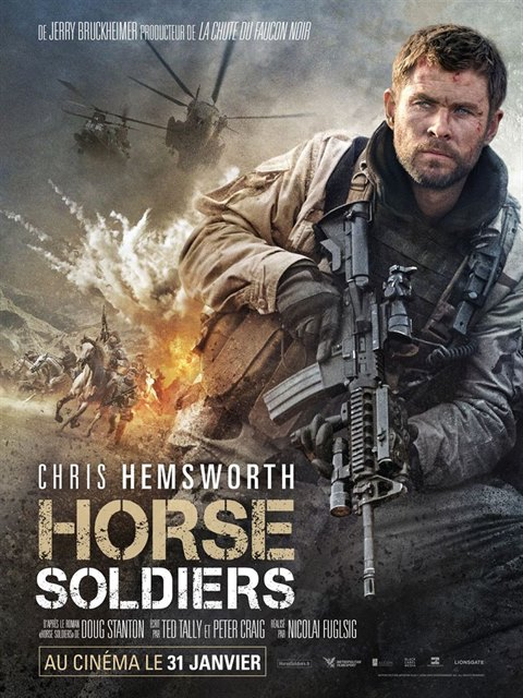 Horse Soldiers à la location en dvd