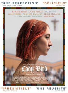 Lady Bird à la location en dvd