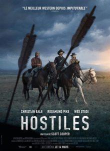 Hostiles à la location en dvd