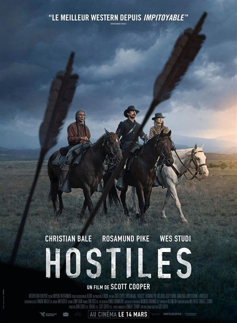 Hostiles à la location en dvd