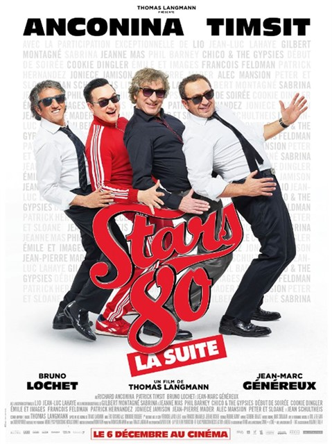 Stars 80, la suite en location dvd
