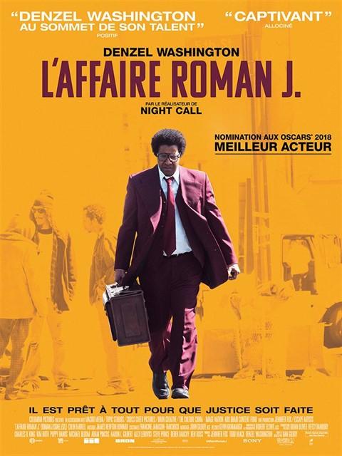 L'affaire Roman J à la location en dvd