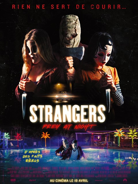 STRANGERS PREY AT NIGHT à la location en dvd