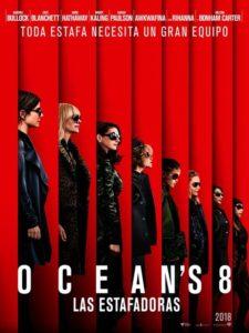Ocean's 8 à la location en dvd