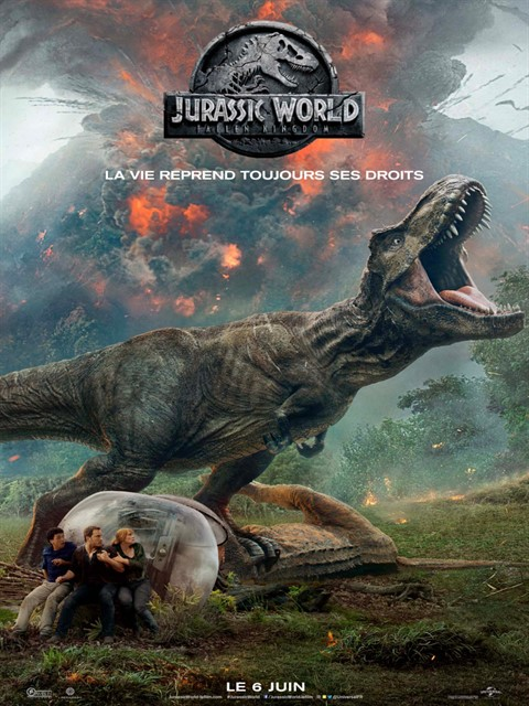 Jurassic World Fallen Kingdom à la location en dvd