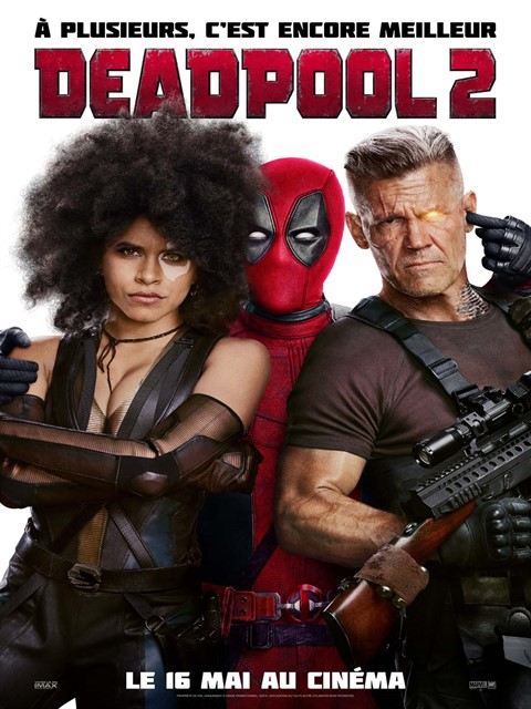 Deadpool 2 à la location en dvd