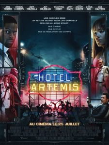 Hotel artemis à la location en dvd