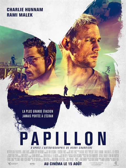 Papillon à la location en dvd