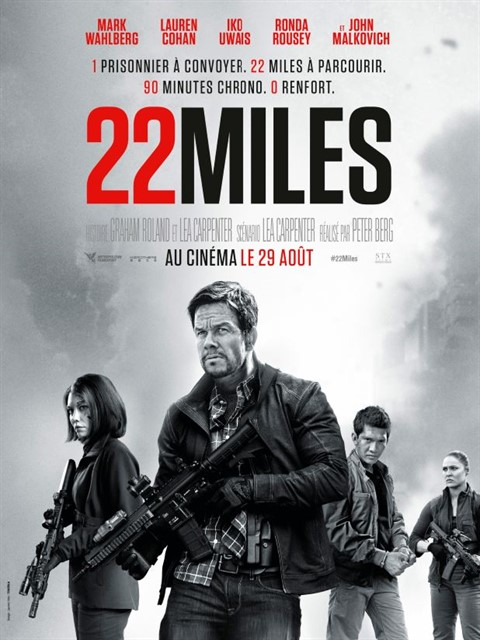 22 Miles à la location en dvd