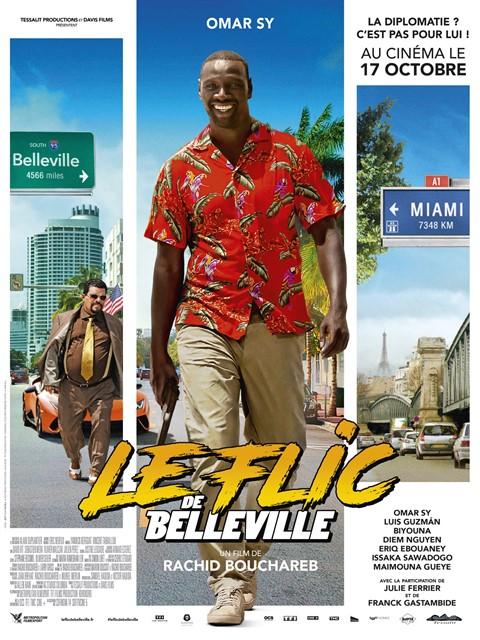 Le Flic de Belleville à la location en dvd