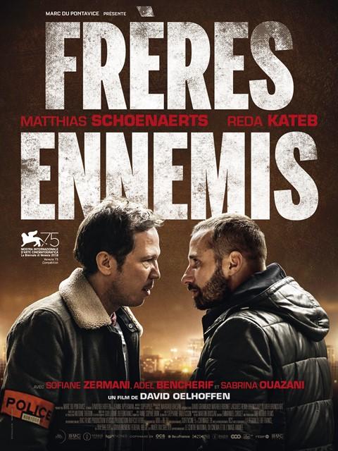 Freres ennemis à la location en dvd