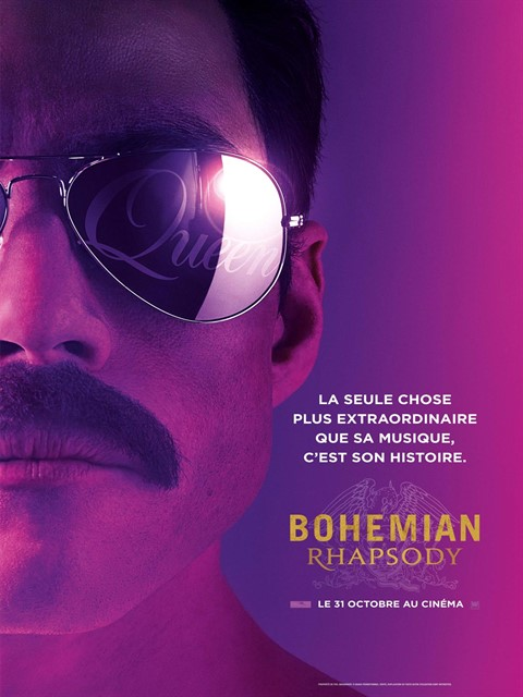 Bohemian rhapsody à la location en dvd