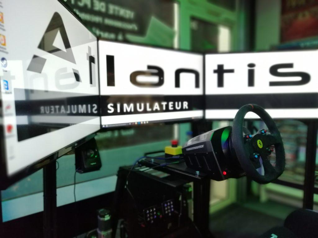 simulateur de course